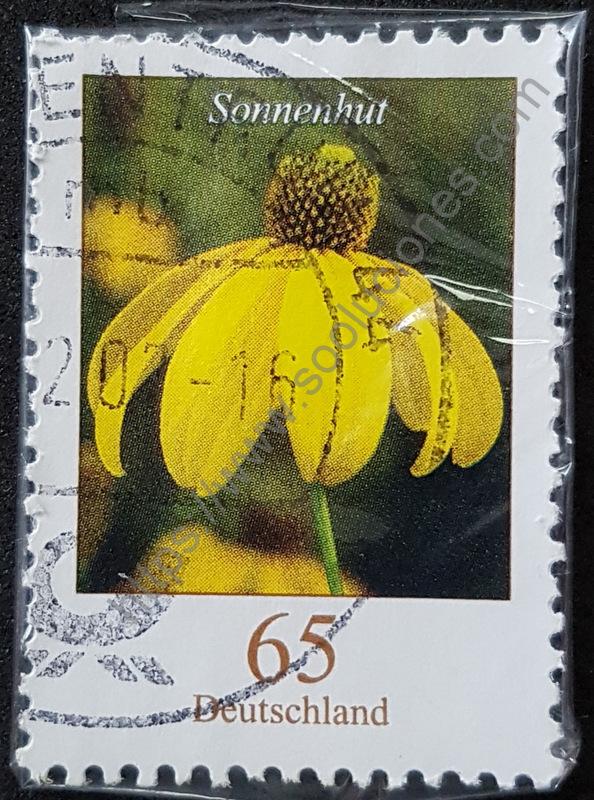 Flores Alemania estampilla Sonnenhut año 2006