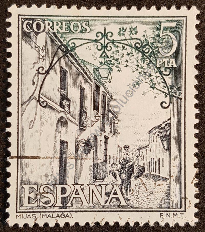 00459 sello españa 1975 turismo Mijas-001