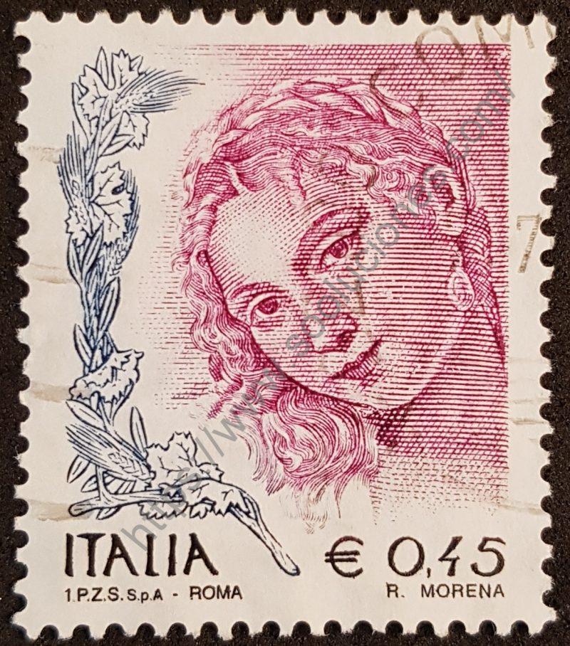 sello italia 2004 venus de urbino