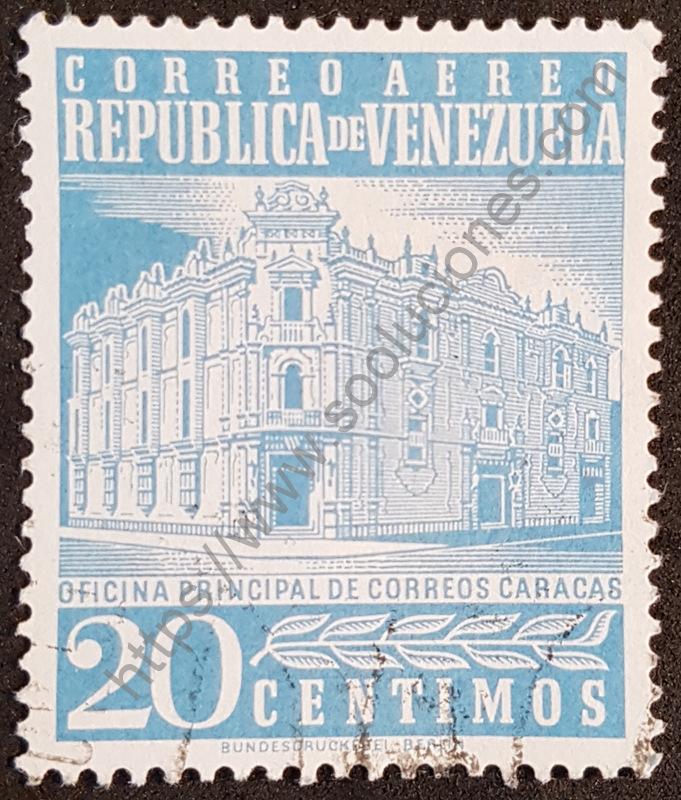 sello venezuela 1958 oficina caracas