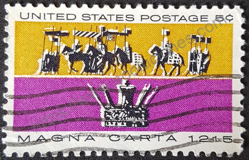 Sello-Estados-Unidos-1965-Juan-sin-tierras