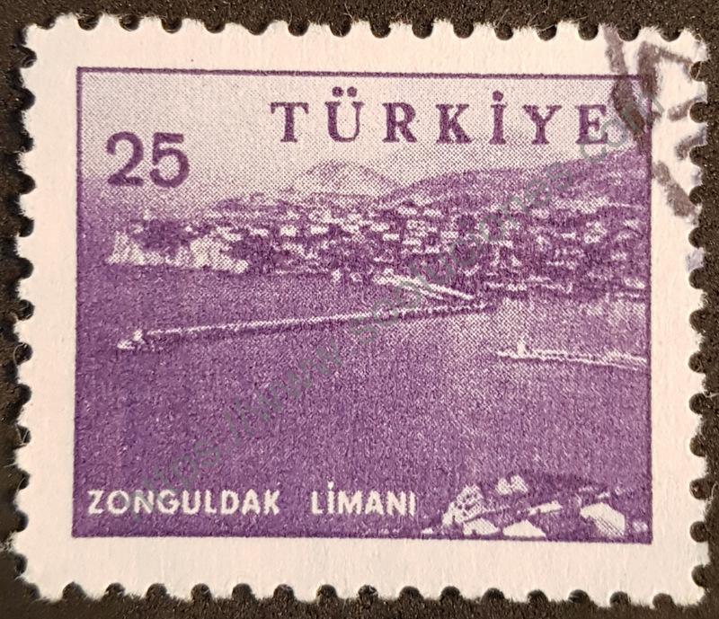 Zonguldak Turquía estampilla 1959
