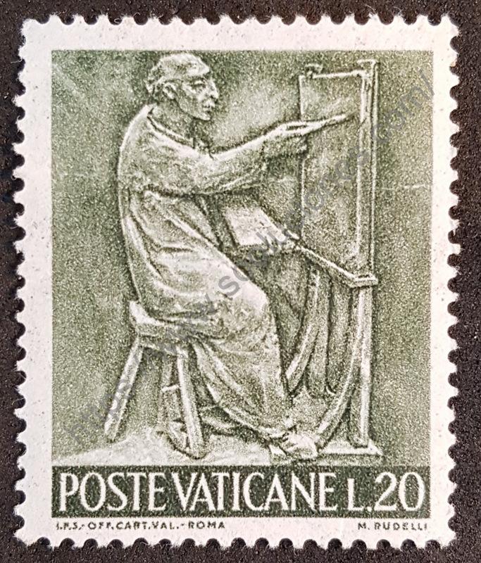 Estampilla Ciudad del Vaticano 1966 - Pintor