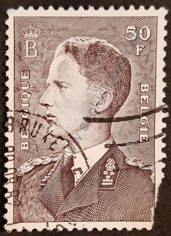 Rey Balduino de Bélgica Estampilla de 1969