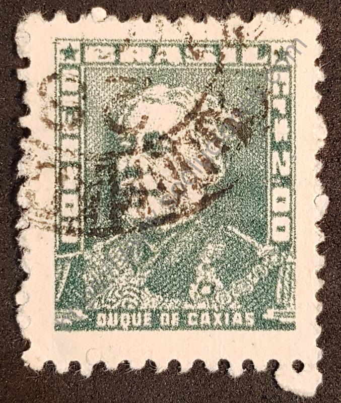 Estampilla Duque de Caxias en Brasil año 1961