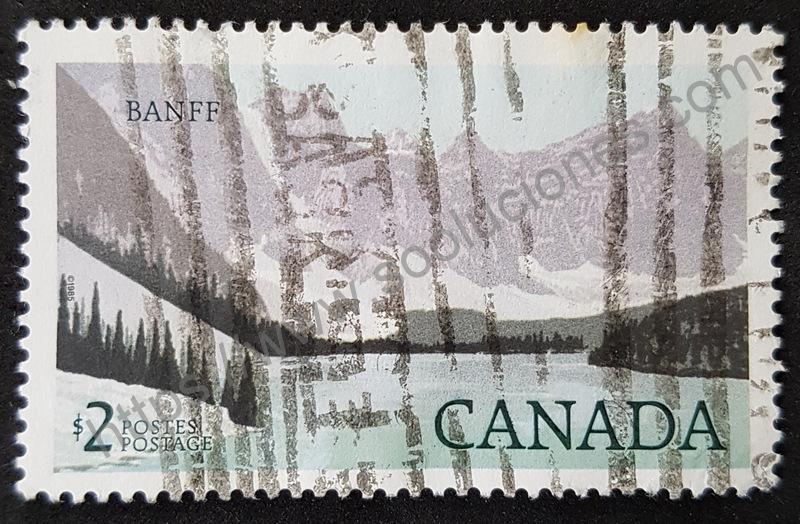 Parque Banff en Canadá Estampilla de 1985