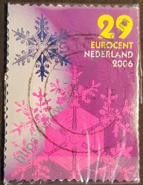 Navidad. Sello de Holanda año 2006