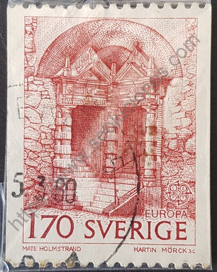 Sello: Castillo de Örebro Suecia 1978