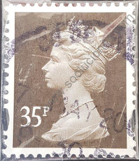 Sello: Gran Bretaña Isabel II año 2004. Elizabeth II