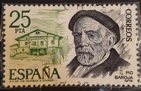 Sello: España 1978 Pío Baroja 1872-1956