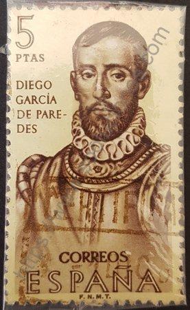 Estampilla Diego García de Paredes España 1963