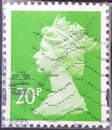 Sello Reina Elizabeth II 2013 valor 20 peniques