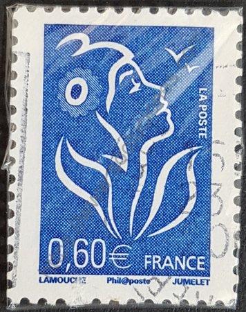 Timbre de Francia 2006 Marianne serie básica