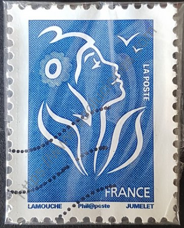 Estampilla Marianne Lamouche Francia 2008