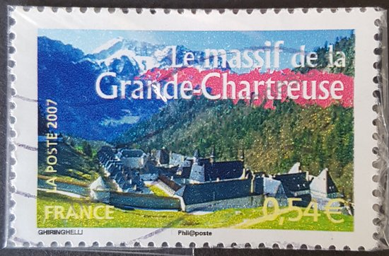 Sello del Massif de la Grande-Chartreuse Francia 2007