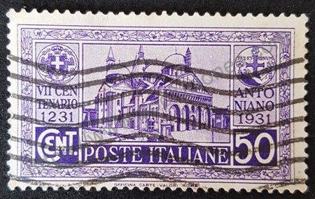 Sello San Antonio de Padua Italia 1931