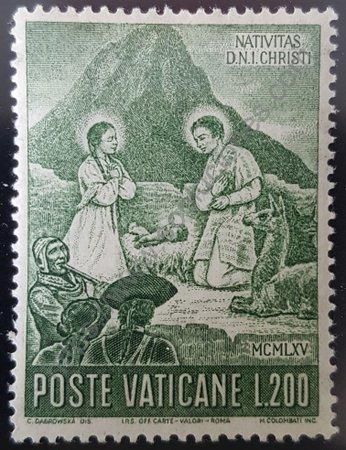 Estampilla de Ciudad del Vaticano Natividad peruana