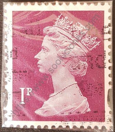 Estampilla Gran Bretaña Elizabeth II sello del 2009