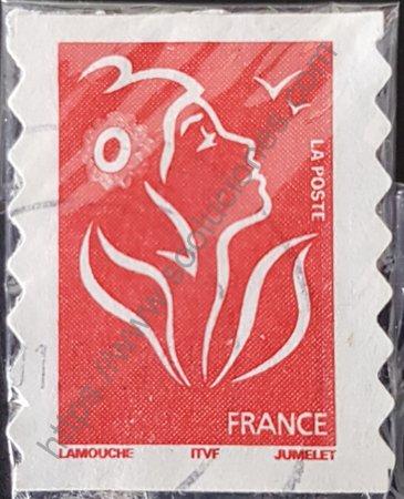 Estampilla de Marianne Lamouche 2005 Francia