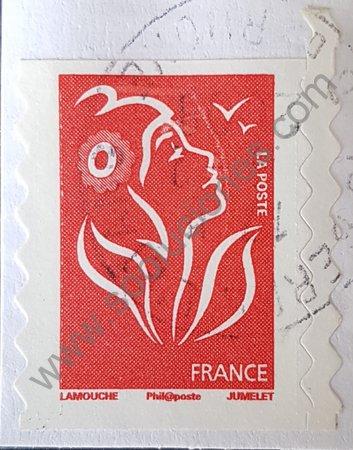 Estampilla de Francia 2006 Marianne de Lamouche