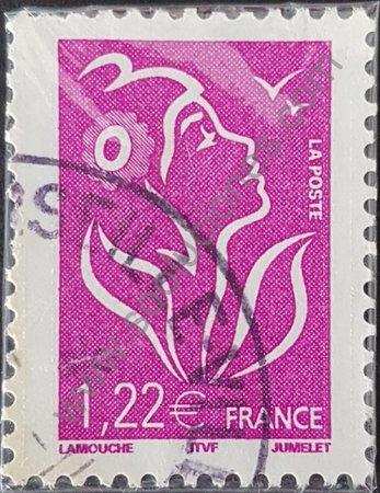 Estampilla Francia 2005 Marianne valor 1,22 euros