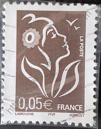 Estampilla de Francia año 2005 Marianne Lamouche
