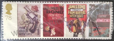 "Sello Ian Fleming ""Desde Rusia con amor"" GB 2008"