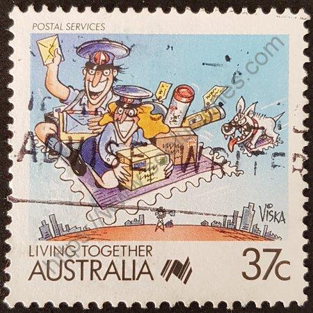 Filatelia: 2º centenario de la colonización de Australia