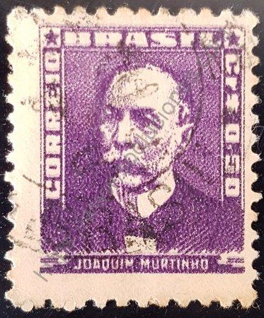 Estampilla de Joaquim Murthino Brasil año 1954