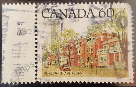 Estampilla de calle Ontario en Canadá año 1982.