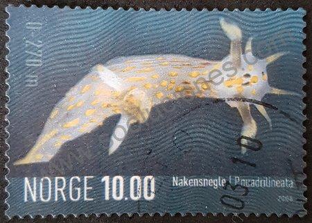 Sello de Babosa de mar Noruega año 2006