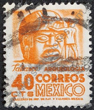 Cabeza de La Cobata estampilla de México 1963