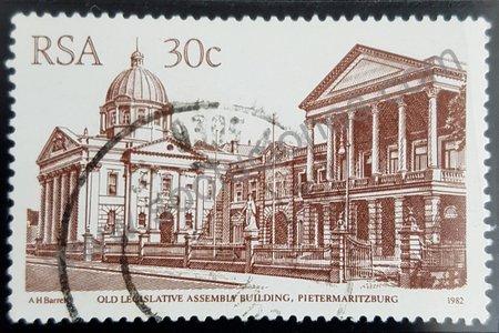 Estampilla Sudáfrica 1982 Pietermaritzburg