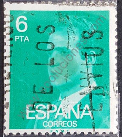 Sello: Juan Carlos I 6 pta España 1977