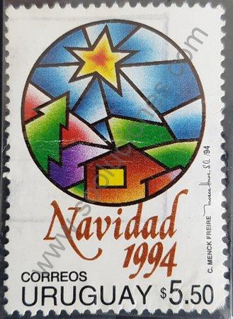 Estampilla de Uruguay 1994 Navidad