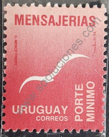 Estampilla Uruguay 1994 básica - Pájaro