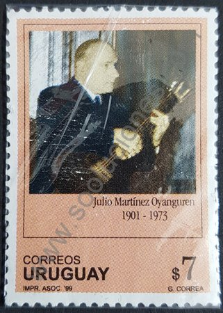 Sello: Julio Martinez Oyanguren Uruguay 1999
