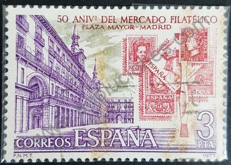 Mercado Filatélico de Madrid 50 Aniversario