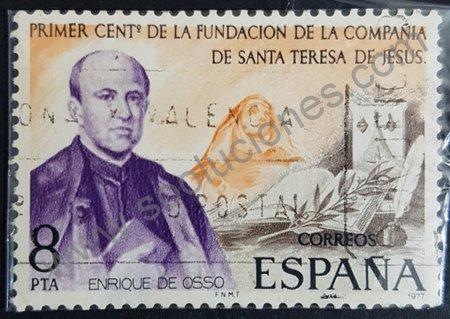 Sello: Enrique de Osso y Cervello España 1977