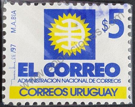 Nuevo logo Correos Uruguay 1997