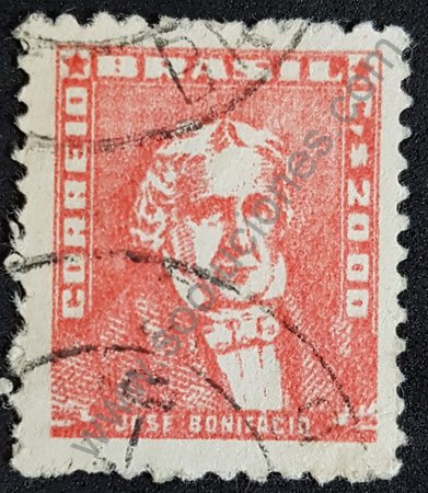 José Andrada sello de Brasil año 1959