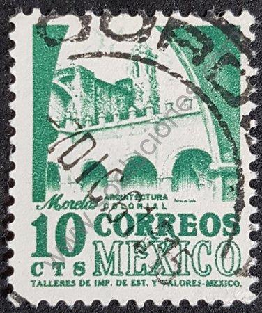 Sello convento dominicano Tepoztlán México
