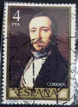 Ramón de Campoamor - estampilla de España 1977