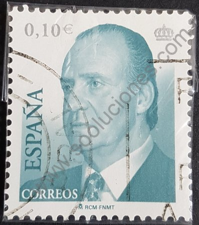Rey Juan Carlos I España 2002 0,10 €