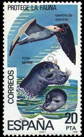 Sello 1978 Conservación de la naturaleza España
