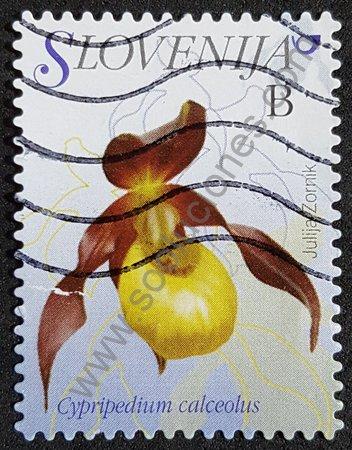 Sello Cypripedium calceolus Eslovenia 2009