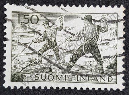 Sello Almadieros Finlandia 1963