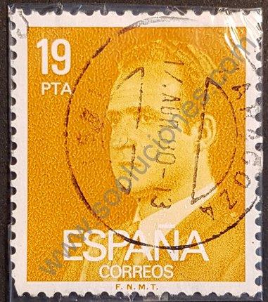 Sello 16 Pta rey Juan Carlos España 1980