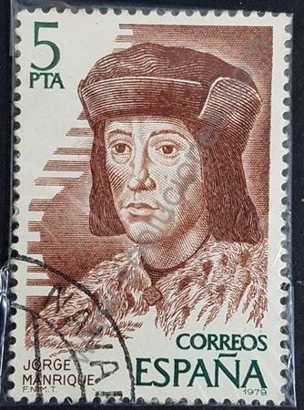 Sello de Jorge Manrique España 1979