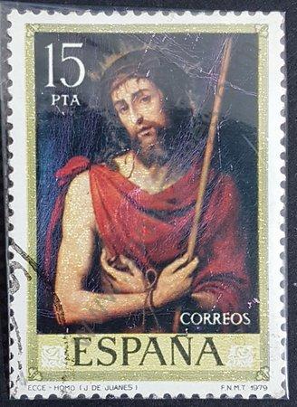 Sello Ecce Homo de Juanes - España 1979